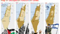 Map of Occupation Palestinian Lands by *ademmm