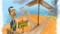 The Dictator's road