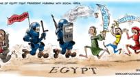 Egypt, facebook, revolution...