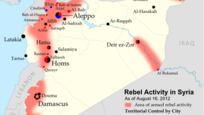 Rebel Activity in Syria