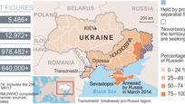 Az ukrán válság áldozatainak száma